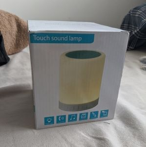 Other - NIB Touch Sound Lamp Wireless Speaker Smart LED
